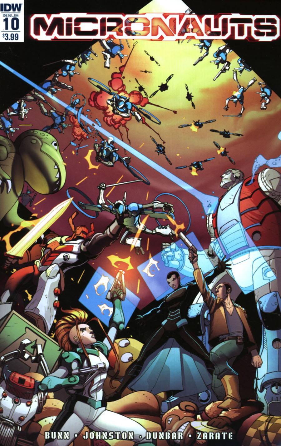 Micronauts Vol 5 #10 Cover A Regular Max Dunbar Cover