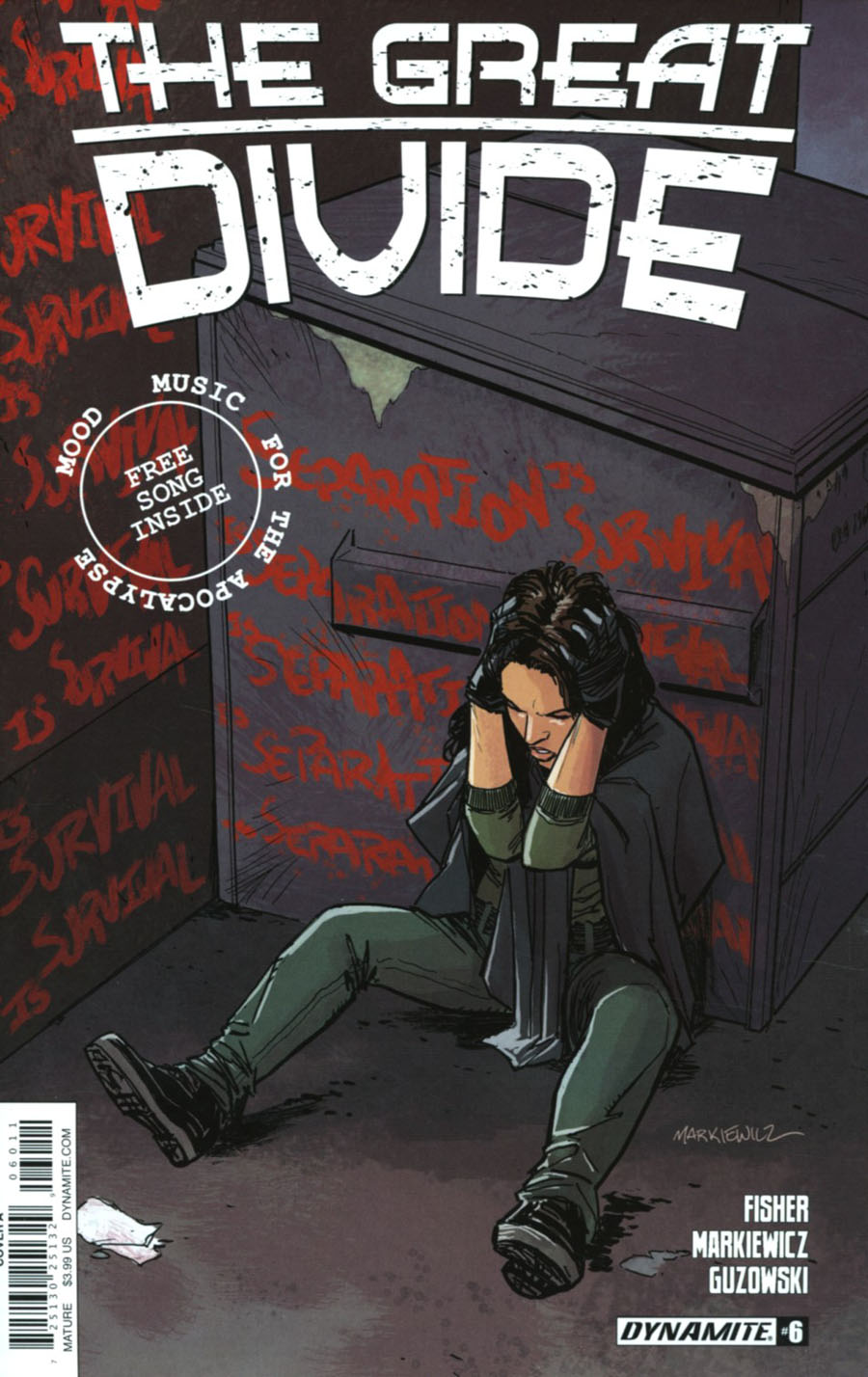 Great Divide #6 Cover A Regular Adam Markiewicz Cover