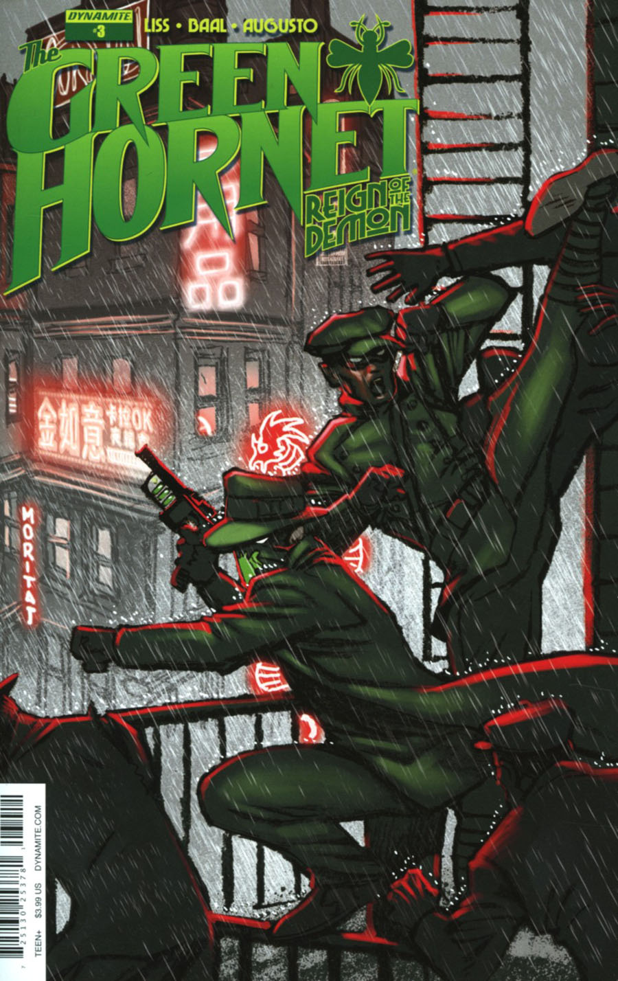 Green Hornet Reign Of The Demon #3 Cover A Regular Moritat Cover