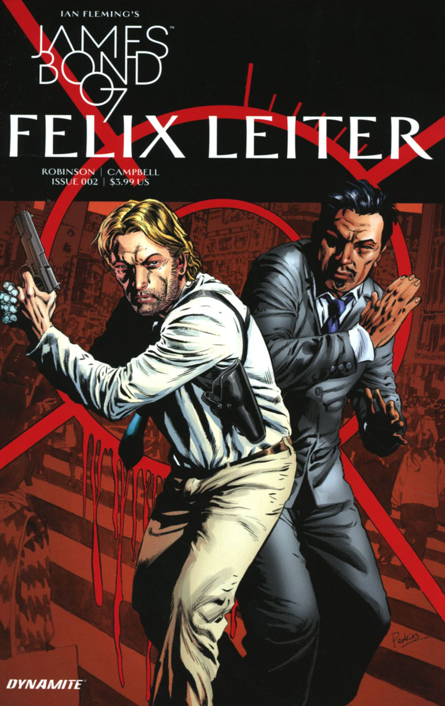 James Bond Felix Leiter #2 Cover A Regular Mike Perkins Cover