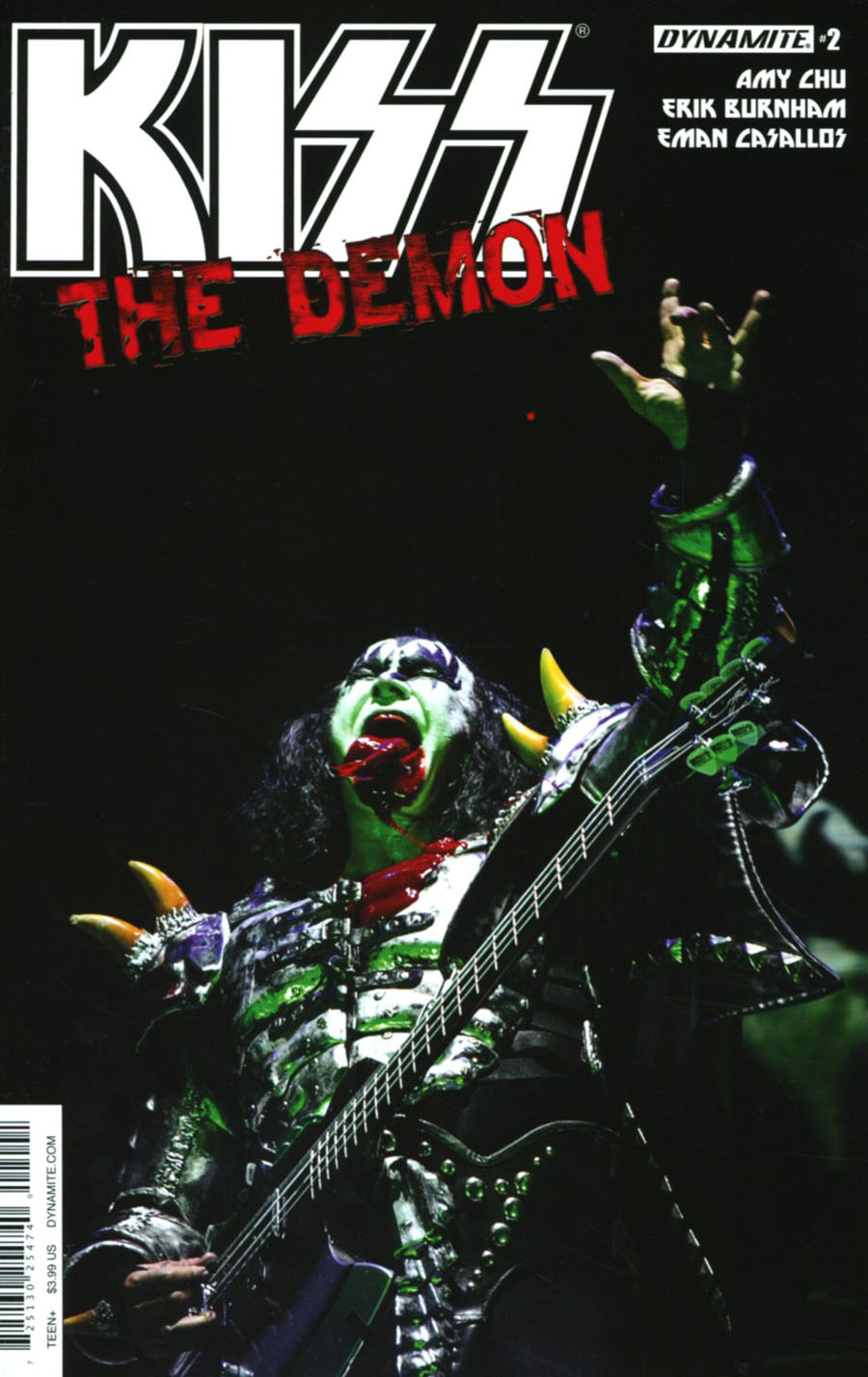 KISS The Demon #2 Cover D Variant Photo Cover