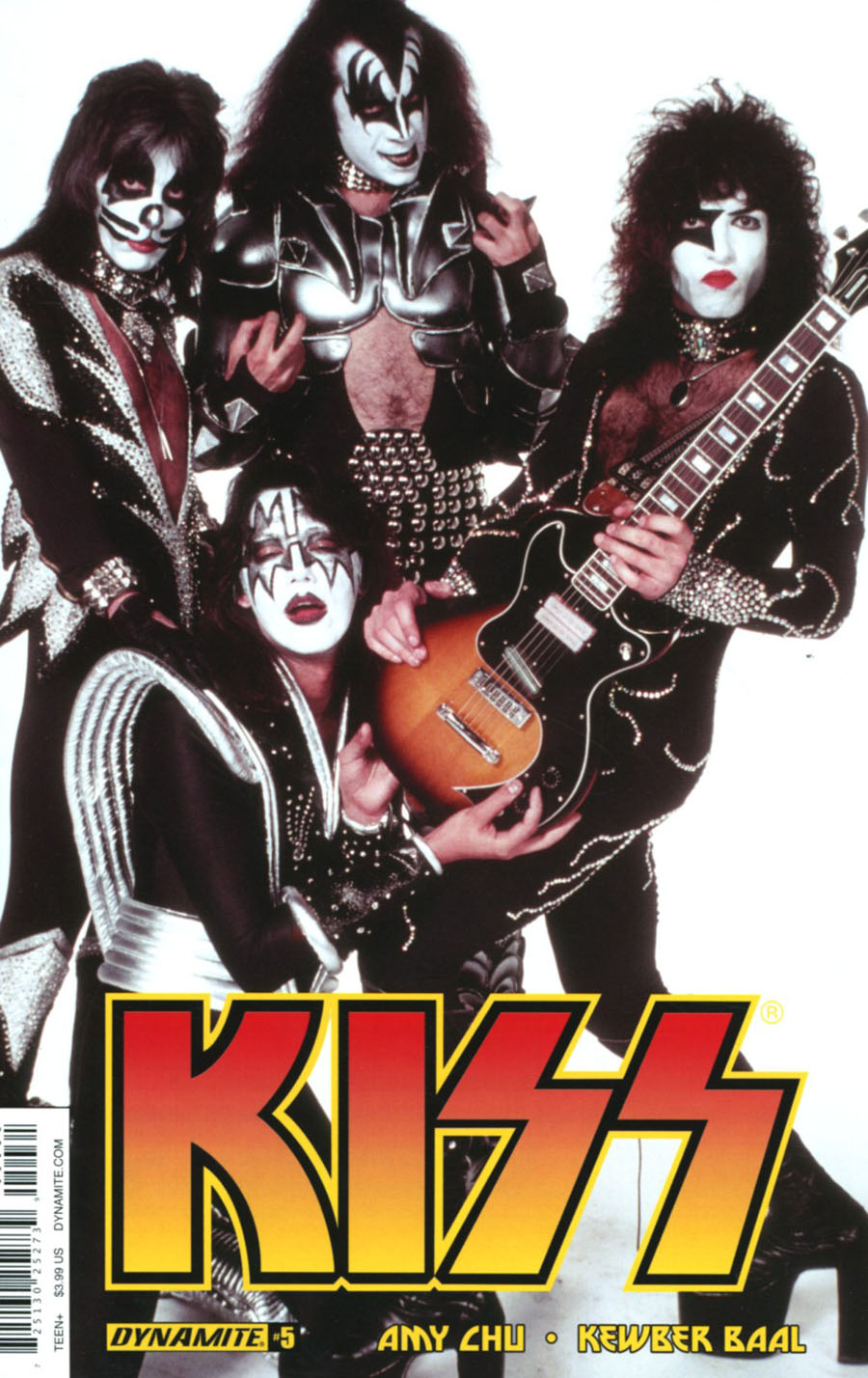 KISS Vol 3 #5 Cover C Variant Photo Cover