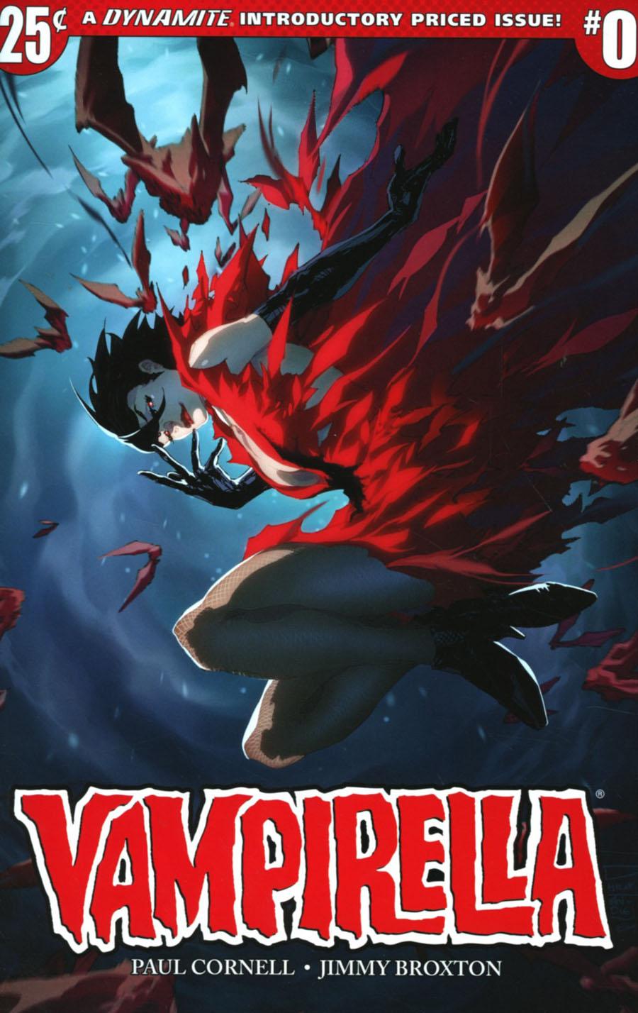 Vampirella Vol 7 #0 Cover A Regular Philip Tan Cover