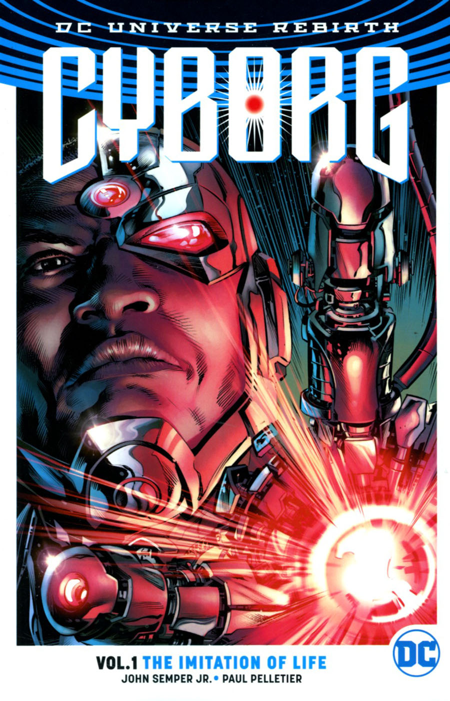Cyborg (Rebirth) Vol 1 The Imitation Of Life TP