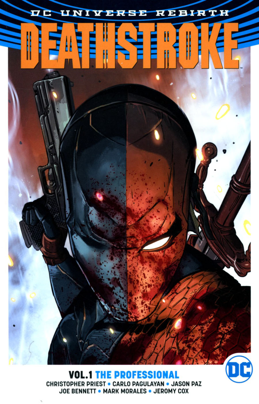 Deathstroke (Rebirth) Vol 1 The Professional TP