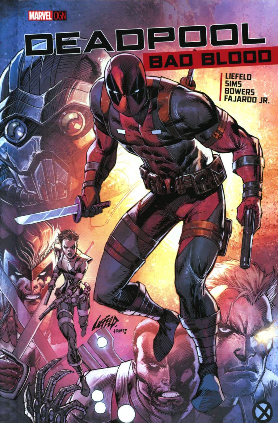 Deadpool Bad Blood HC