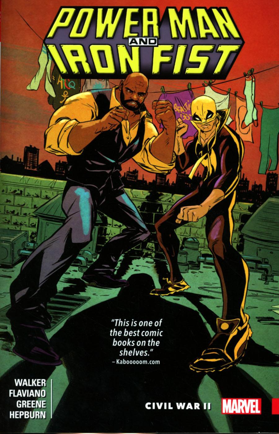 Power Man And Iron Fist Vol 2 Civil War II TP
