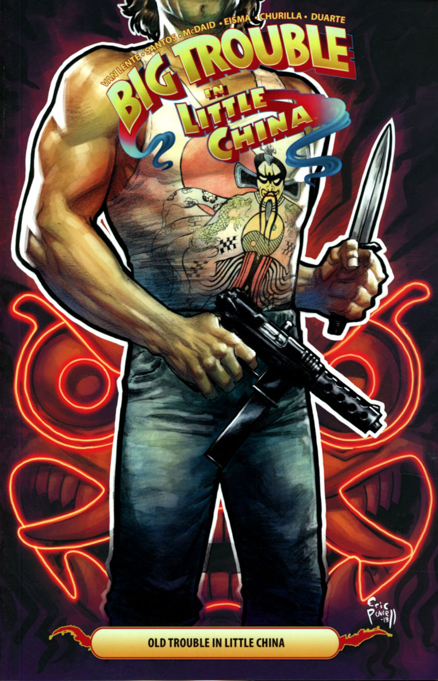 Big Trouble In Little China Vol 6 Old Trouble In Little China TP