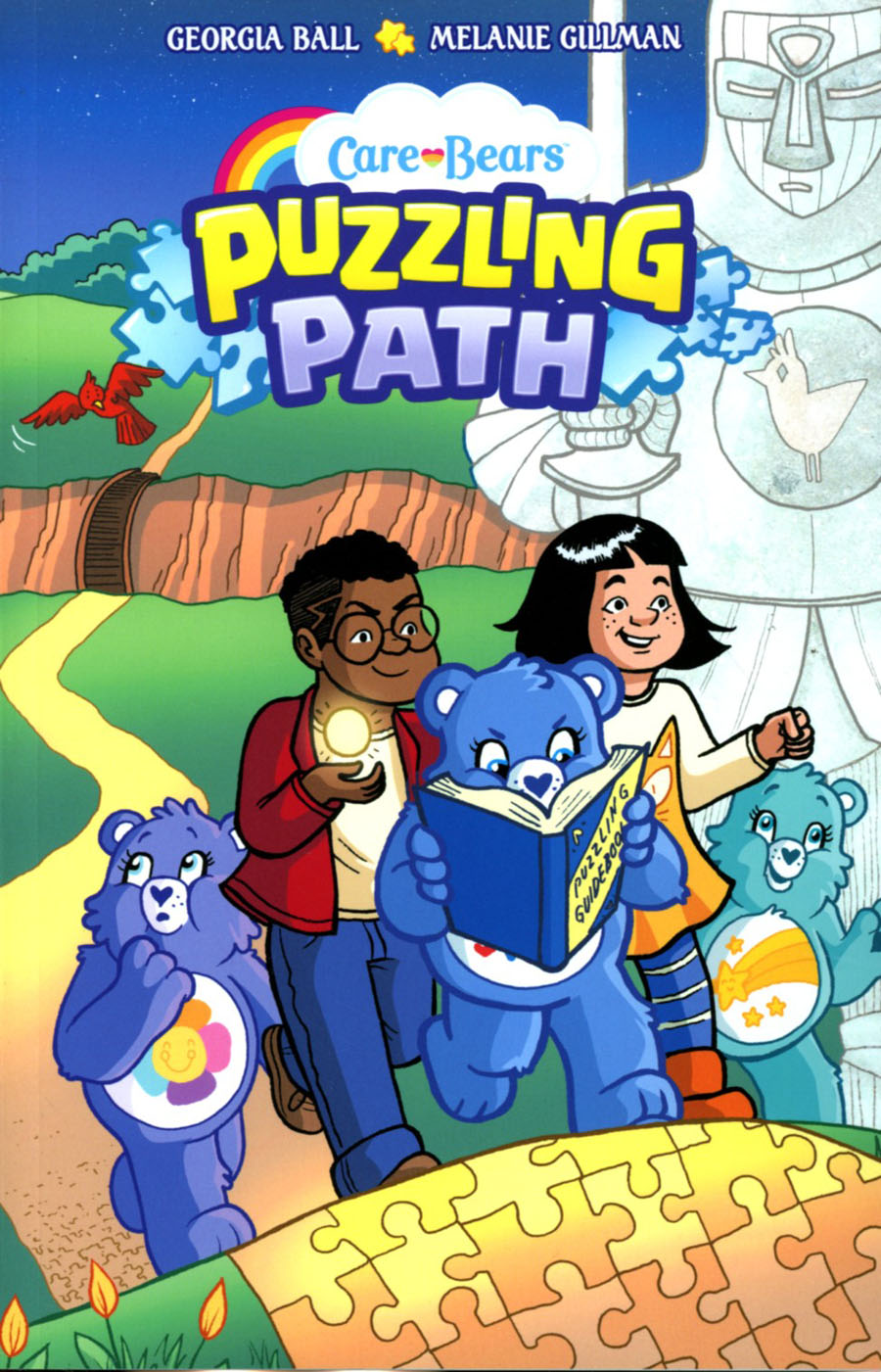Care Bears Puzzling Path GN