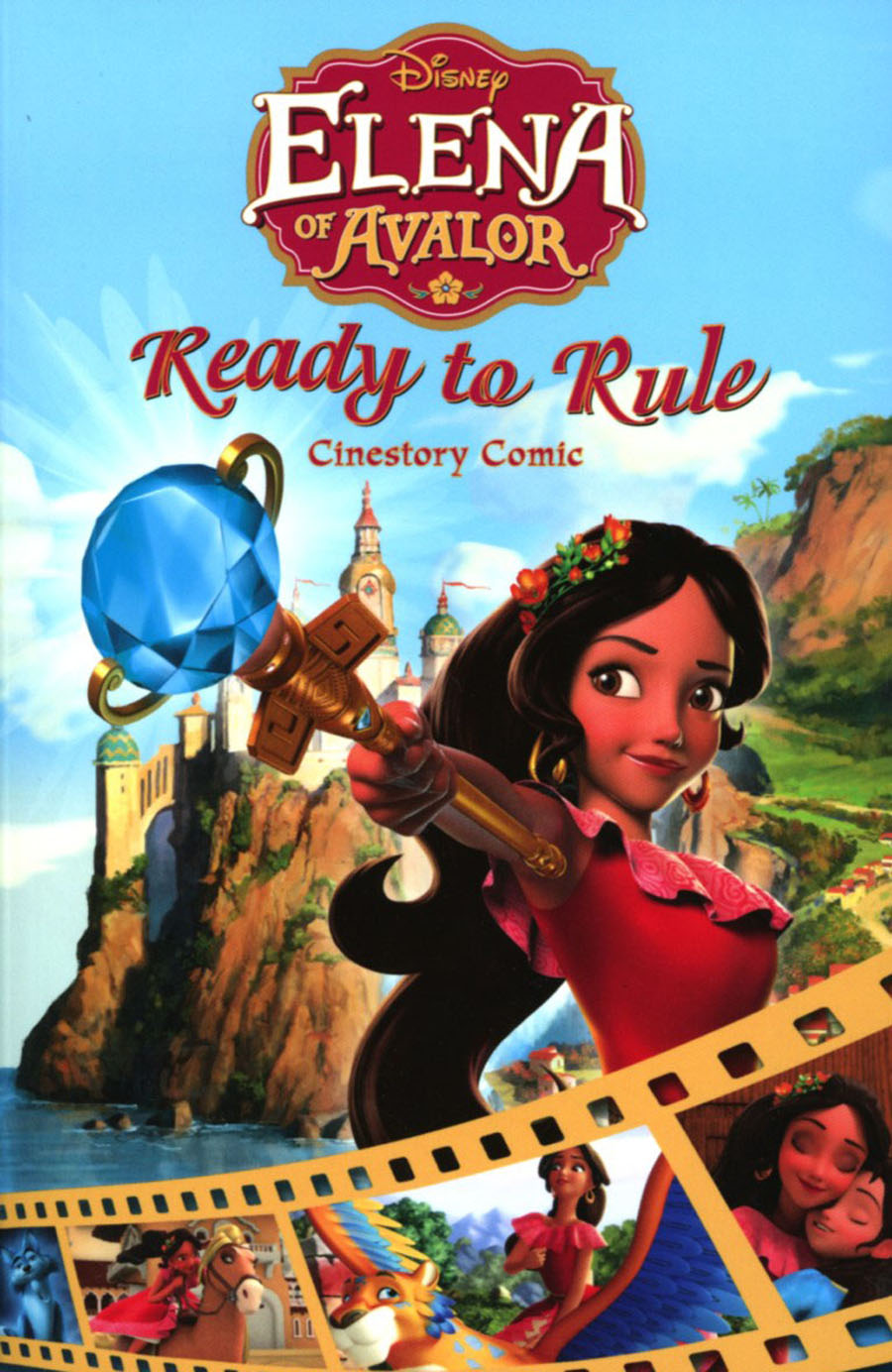 Disney Elena Of Avalor Ready To Rule Cinestory Comic TP