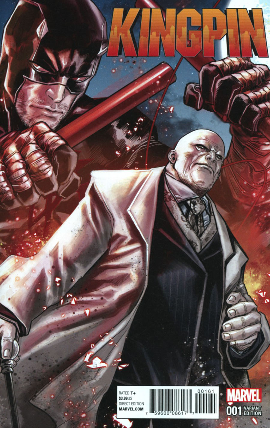 Kingpin Vol 2 #1 Cover C Variant Marco Checchetto Connecting Cover