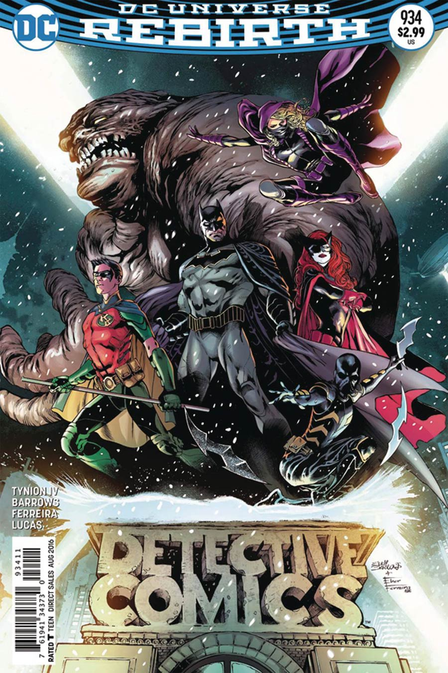 Detective Comics Vol 2 #934 Cover F DF Ultra-Limited Silver Signature Series Signed By James Tynion IV