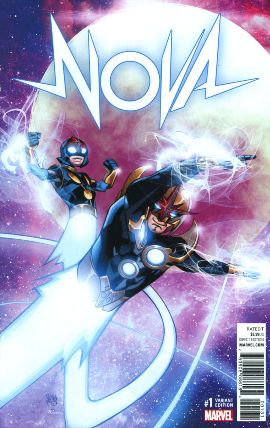 Nova Vol 7 #1 Cover E Incentive Pasqual Ferry Variant Cover (Marvel Now Tie-In)