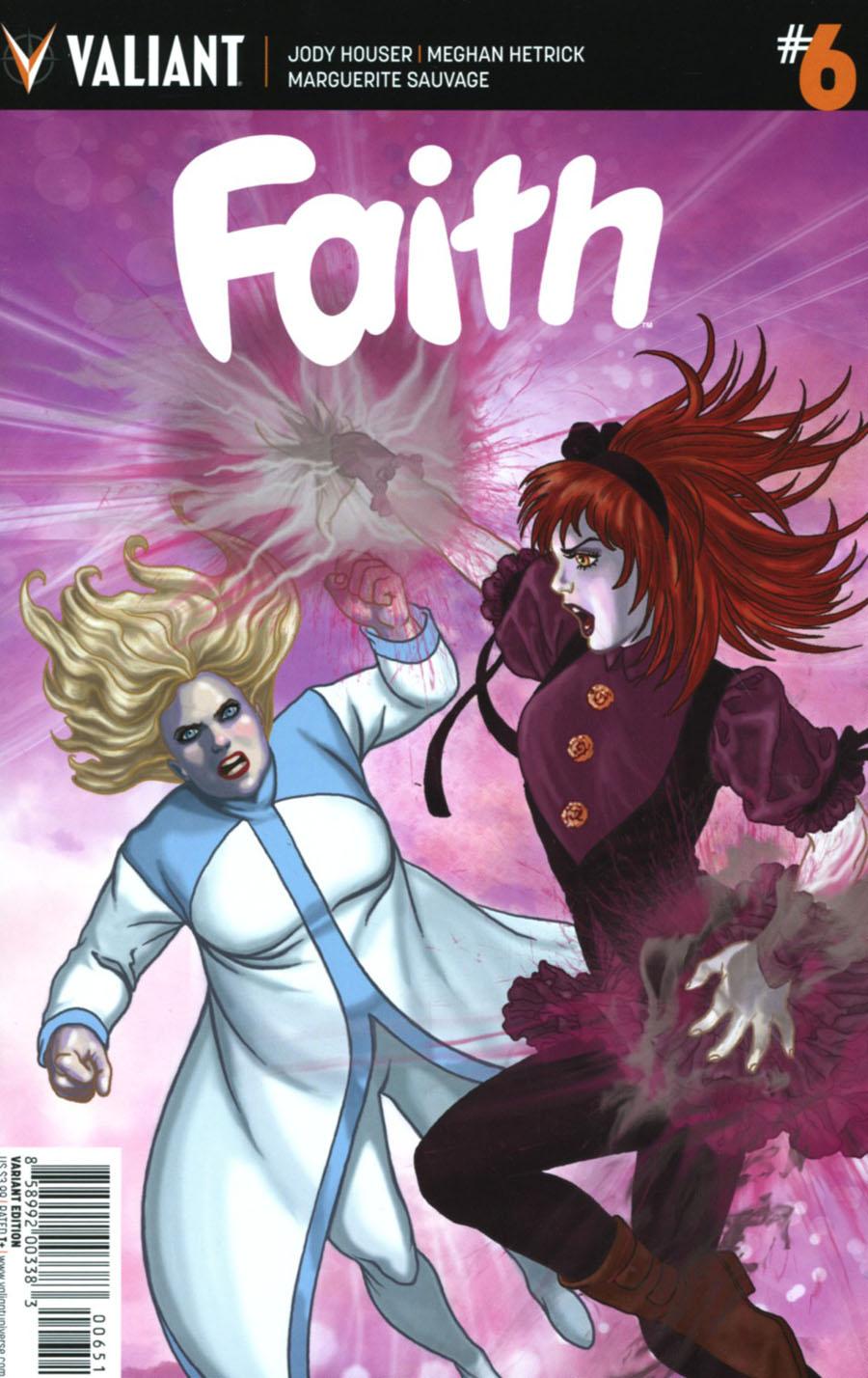 Faith (Valiant Entertainment) Vol 2 #6 Cover E Incentive Colleen Doran Variant Cover