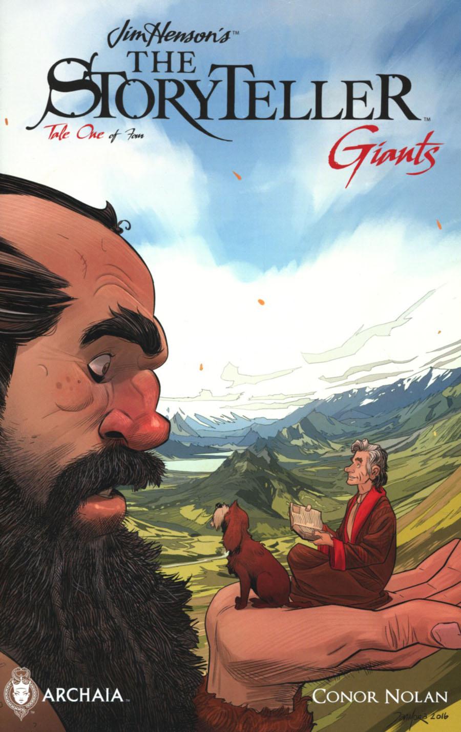 Jim Hensons Storyteller Giants #1 Cover B Variant Dan Mora Cover