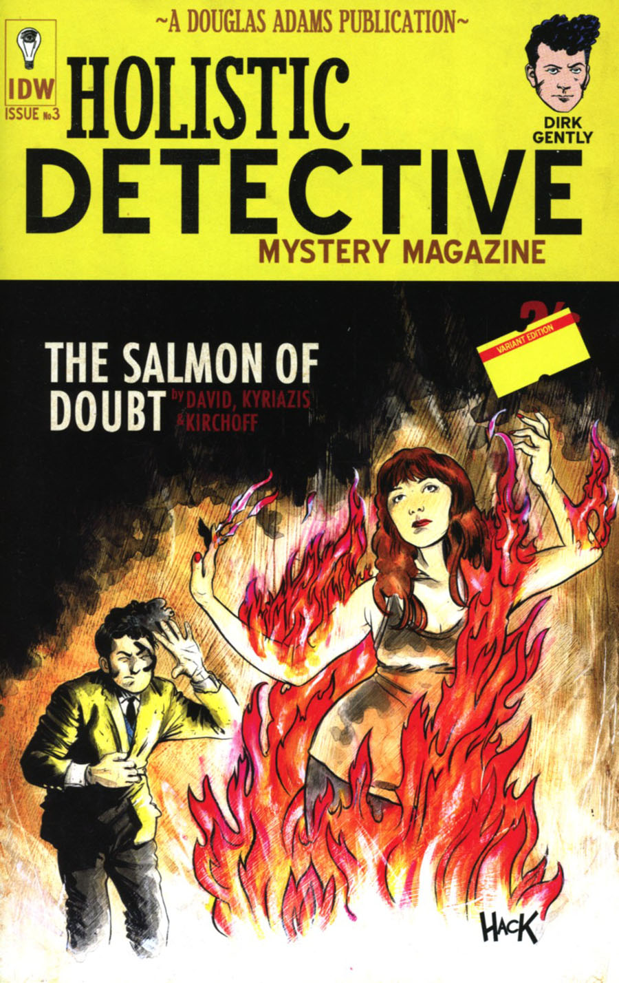 Dirk Gentlys Holistic Detective Agency Salmon Of Doubt #3 Cover C Incentive Robert Hack Variant Cover