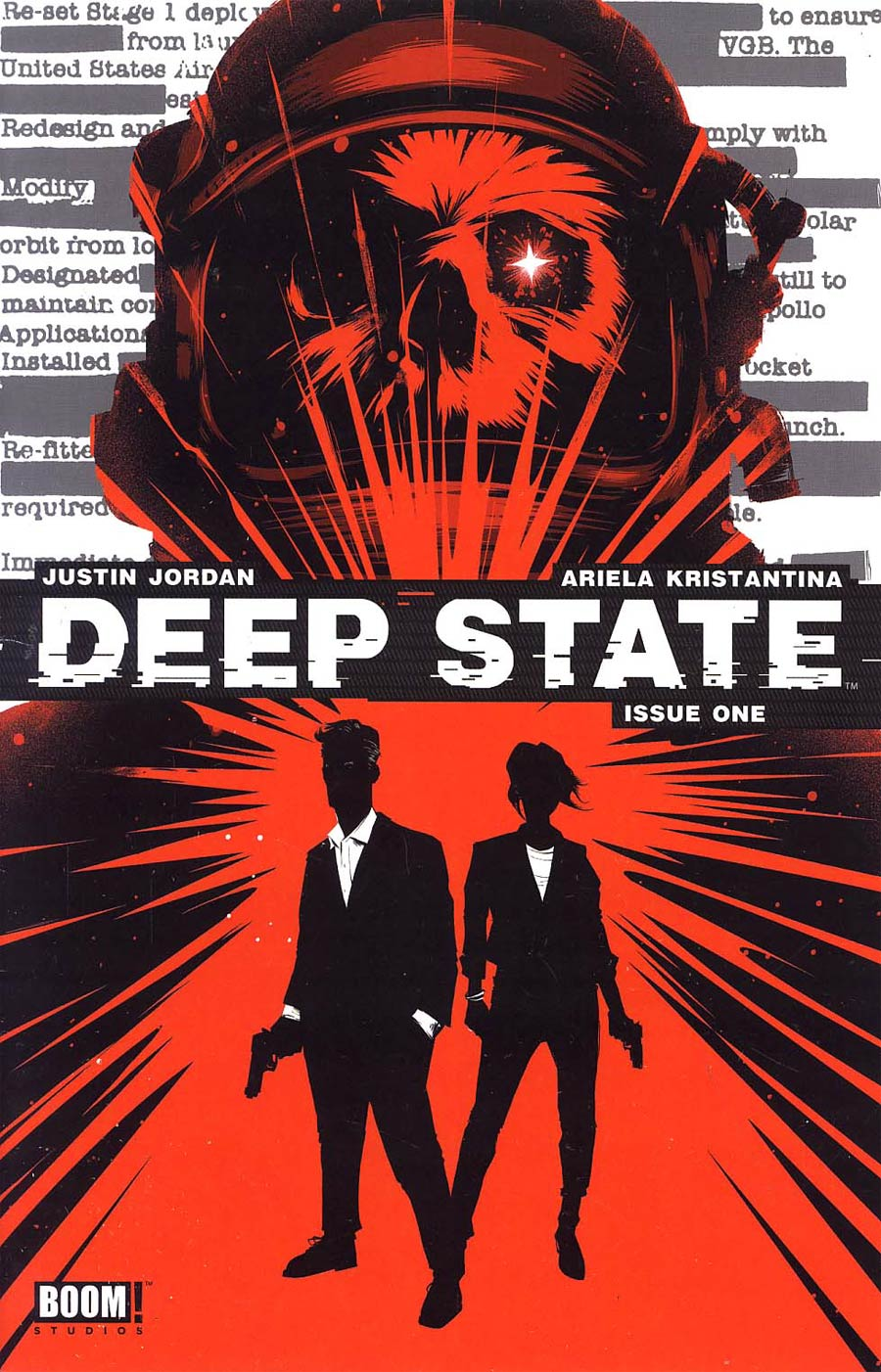 Deep State #1 Cover E 2nd Ptg