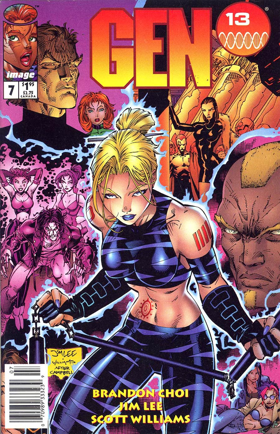 Gen 13 Vol 2 #7 Cover B Newsstand Edition
