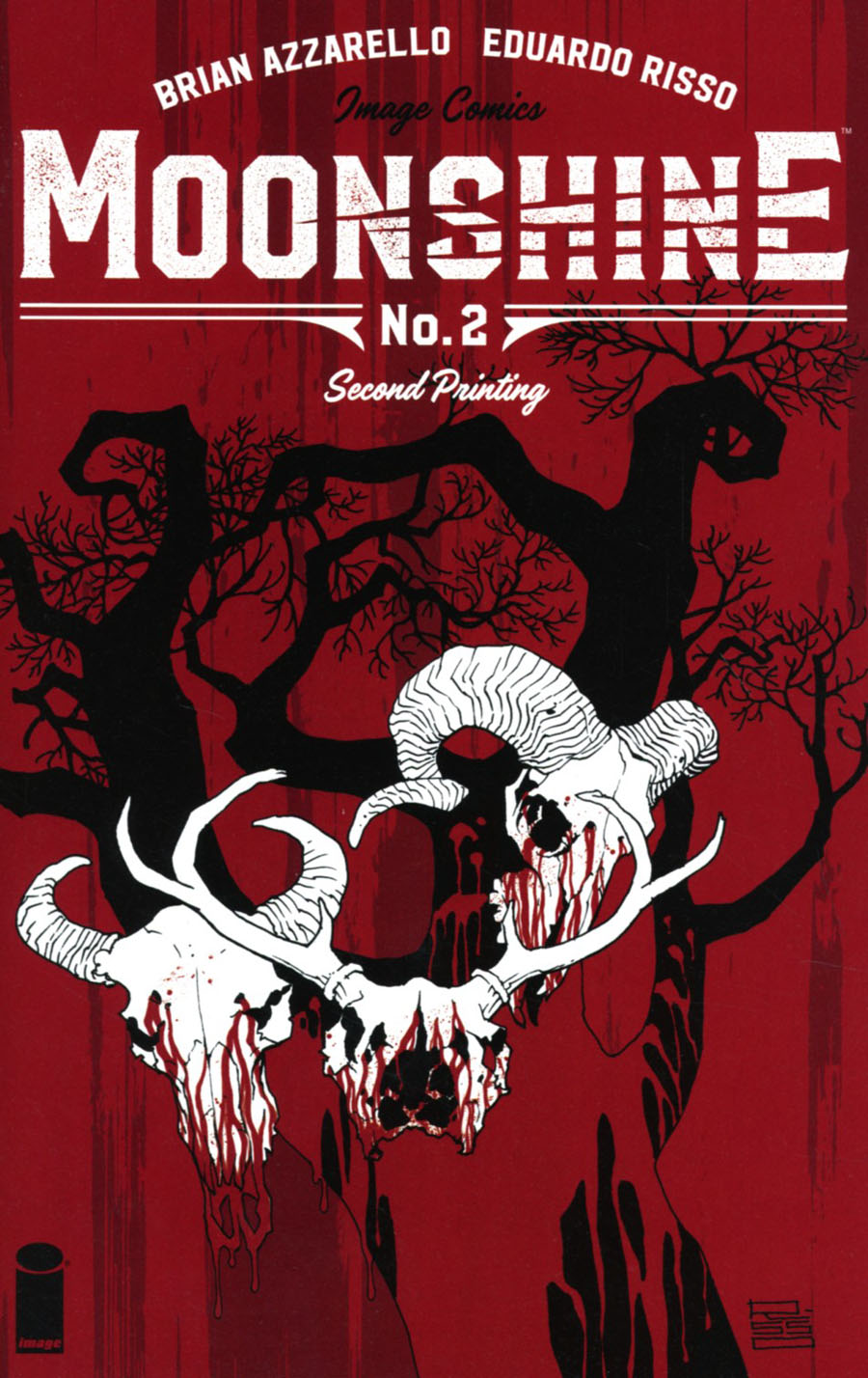 Moonshine #2 Cover C 2nd Ptg Eduardo Risso Variant Cover
