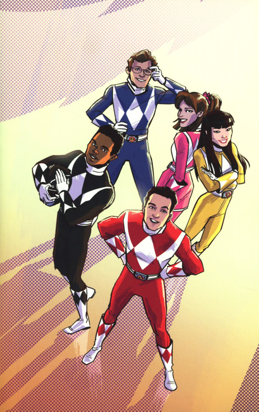 Mighty Morphin Power Rangers Pink #5 Cover C Incentive Annie Wu Virgin Variant Cover