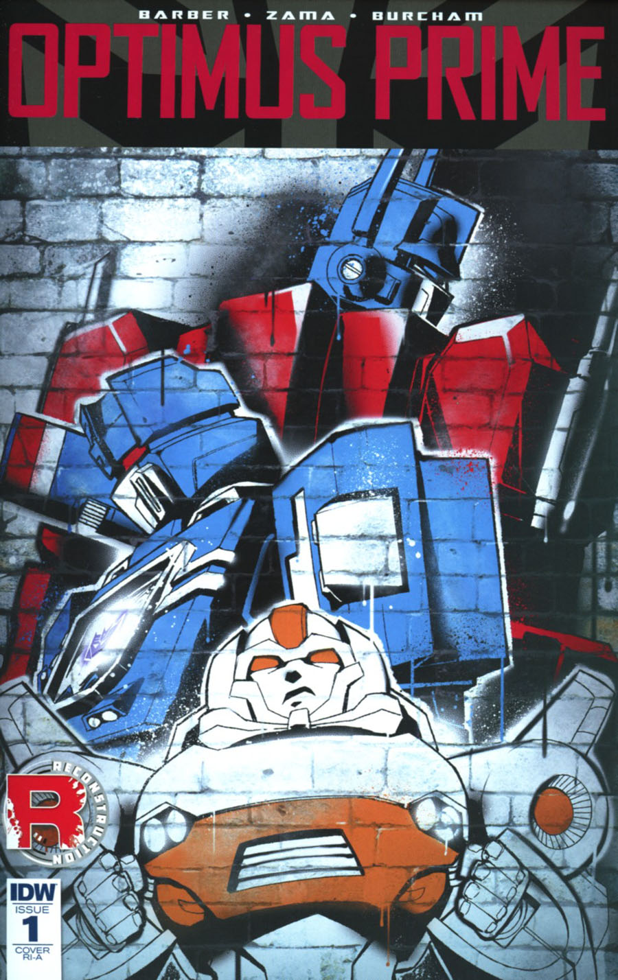 Optimus Prime #1 Cover E Incentive Sara Pitre-Durocher Variant Cover