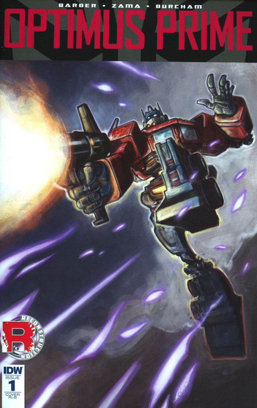 Optimus Prime #1 Cover F Incentive Sonny Liew Variant Cover