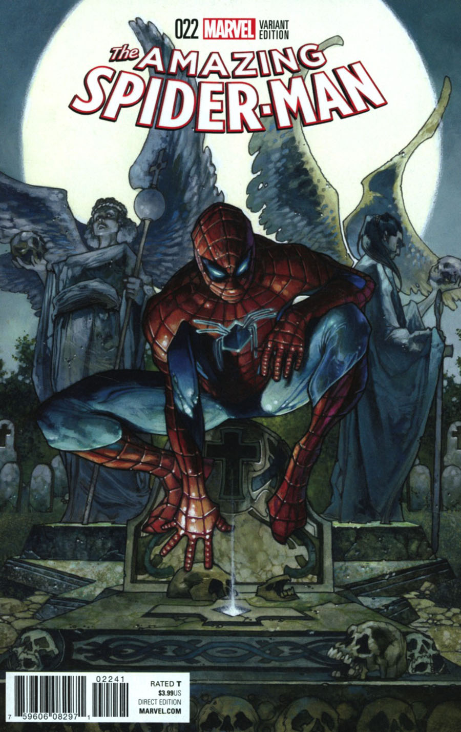 Amazing Spider-Man Vol 4 #22 Cover C Incentive Simone Bianchi Variant Cover (Clone Conspiracy Tie-In)