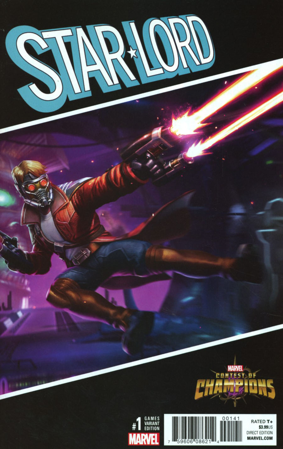 Star-Lord Vol 3 #1 Cover E Incentive Games Variant Cover (Marvel Now Tie-In)