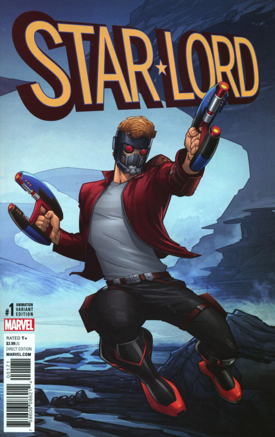 Star-Lord Vol 3 #1 Cover F Incentive Animation Variant Cover (Marvel Now Tie-In)