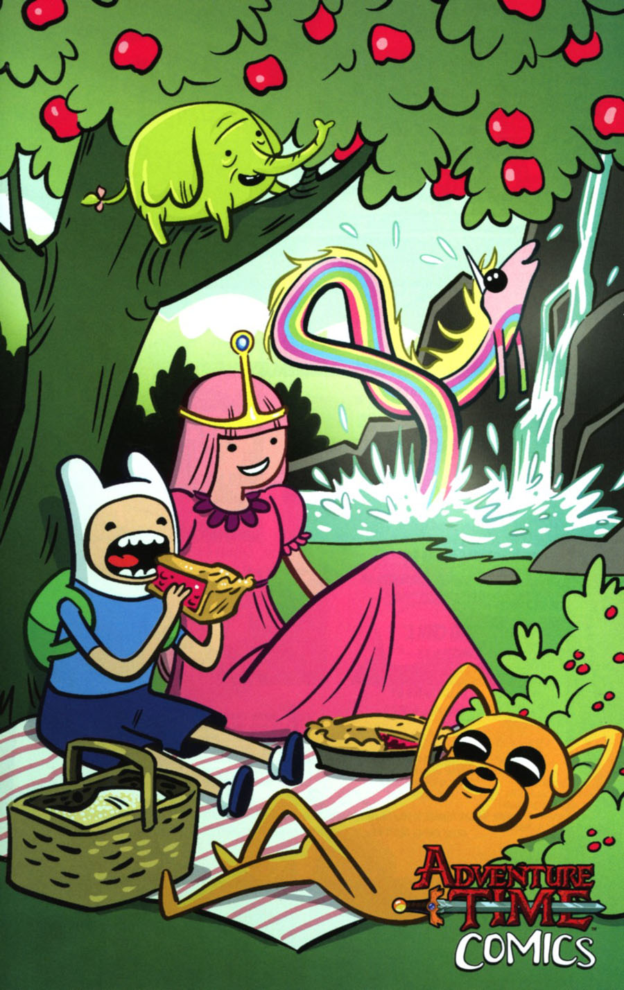 Adventure Time Comics #6 Cover C Incentive Colleen Coover Virgin Variant Cover