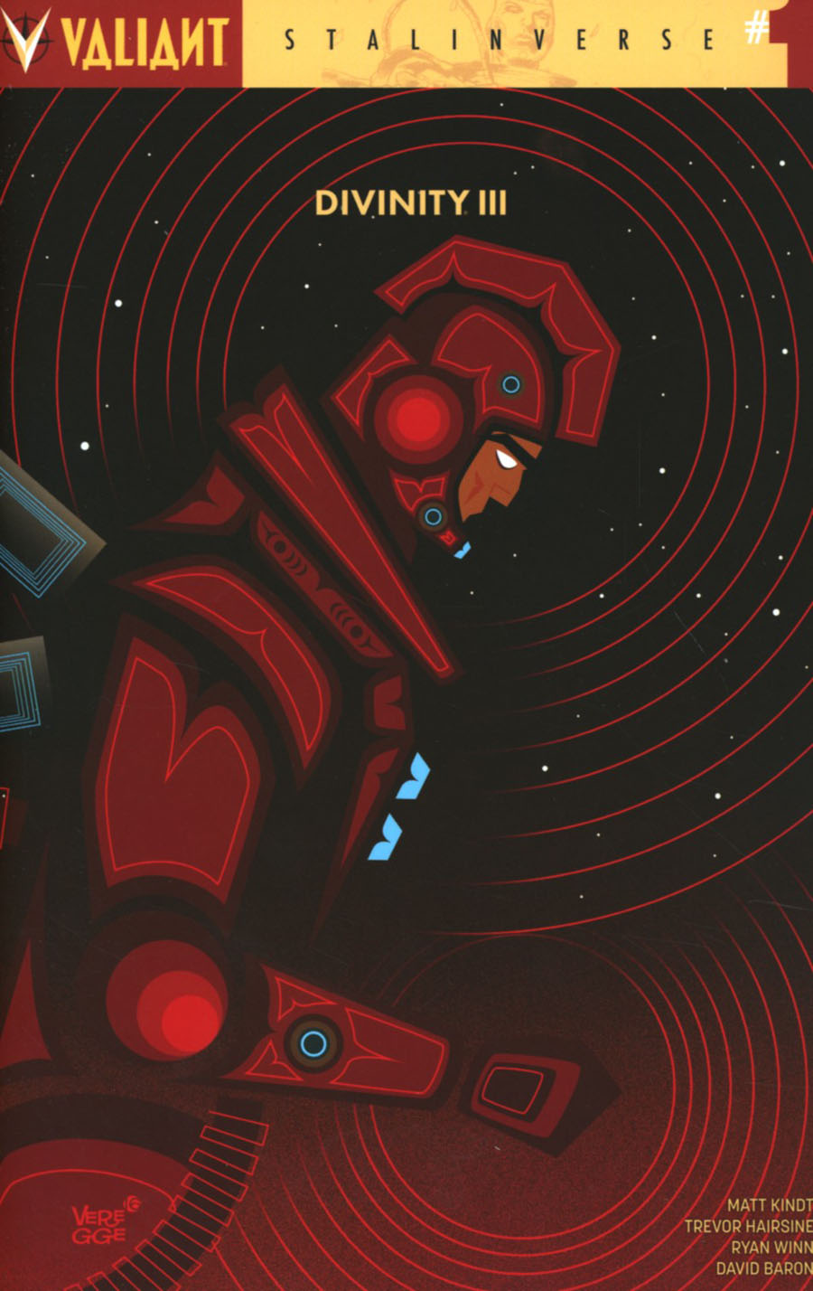 Divinity III Stalinverse #1 Cover E Incentive Jeffrey Veregge Variant Cover
