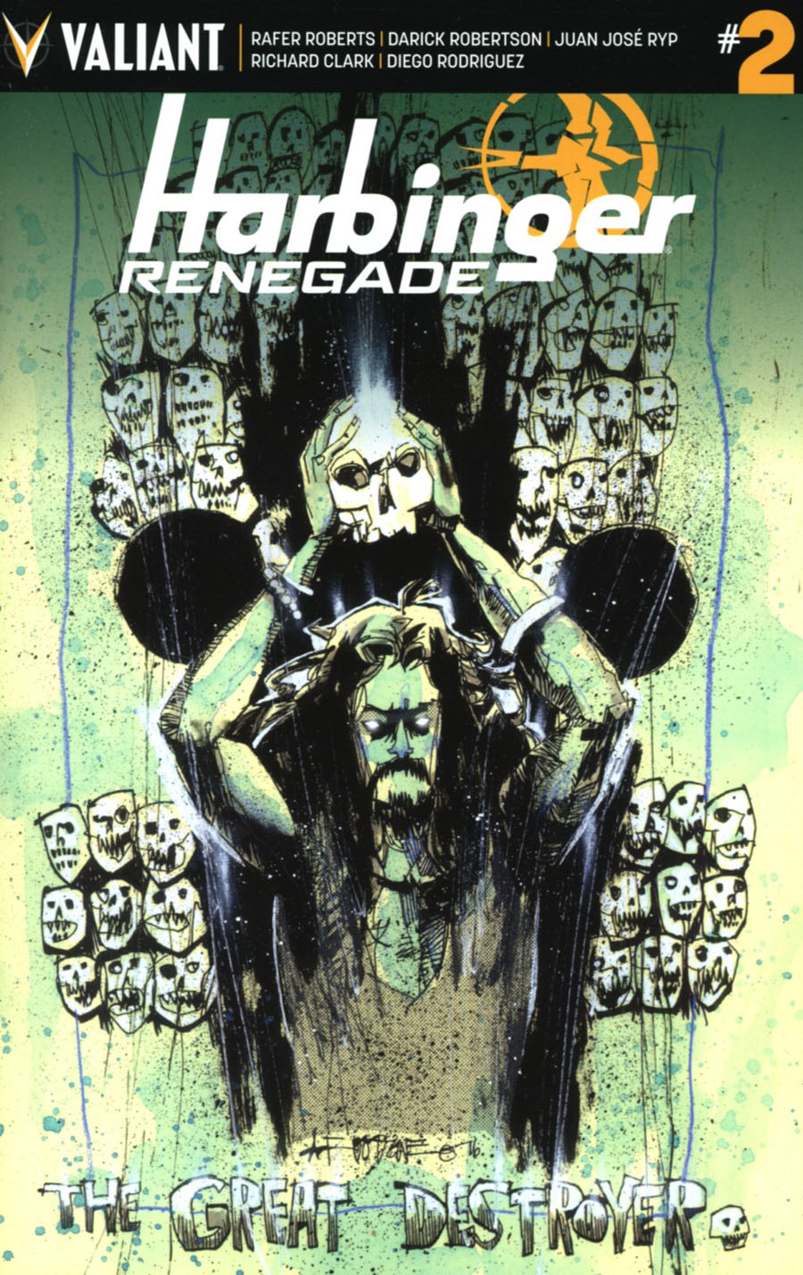 Harbinger Renegade #2 Cover F Incentive Kano Variant Cover