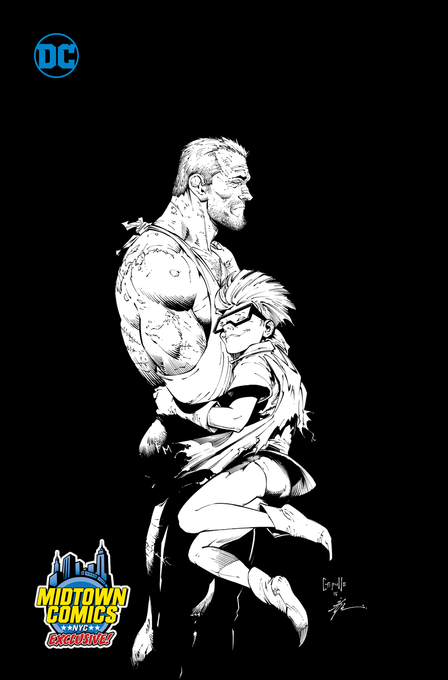 Dark Knight III The Master Race #7 Cover C Midtown Exclusive Greg Capullo Sketch Variant Cover