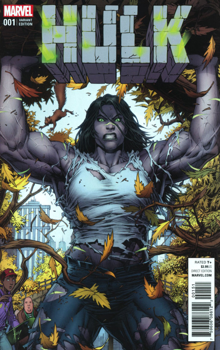 Hulk Vol 4 #1 Cover I Incentive Dale Keown Variant Cover (Marvel Now Tie-In)