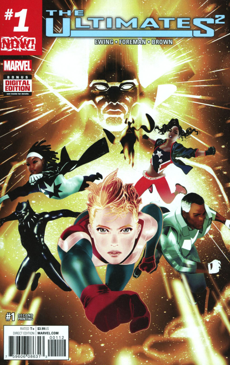 Ultimates (Squared) #1 Cover F 2nd Ptg Travel Foreman Variant Cover (Marvel Now Tie-In)