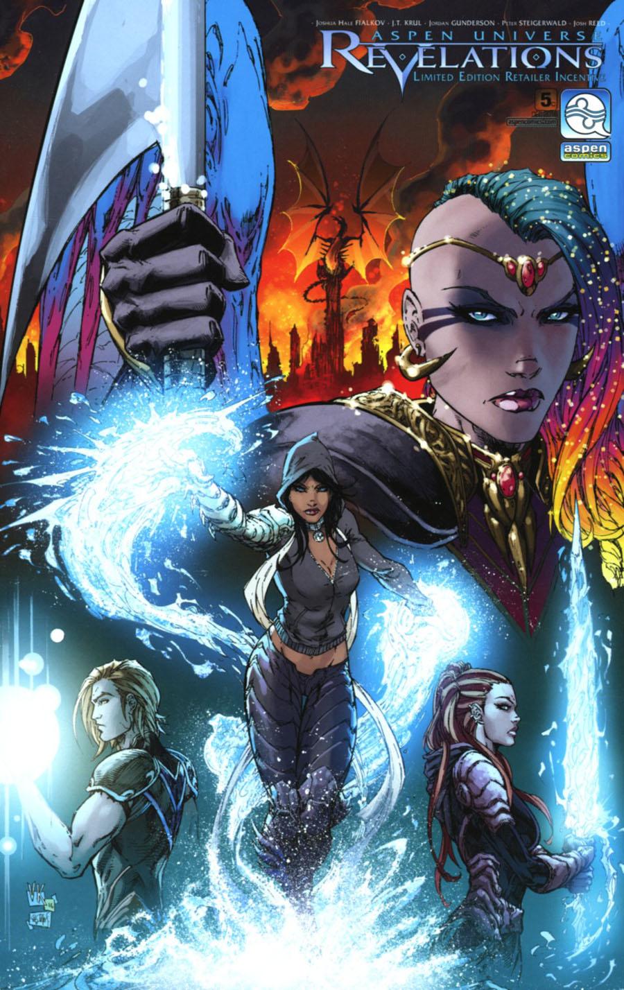 Aspen Universe Revelations #5 Cover C Incentive V Ken Marion Variant Cover