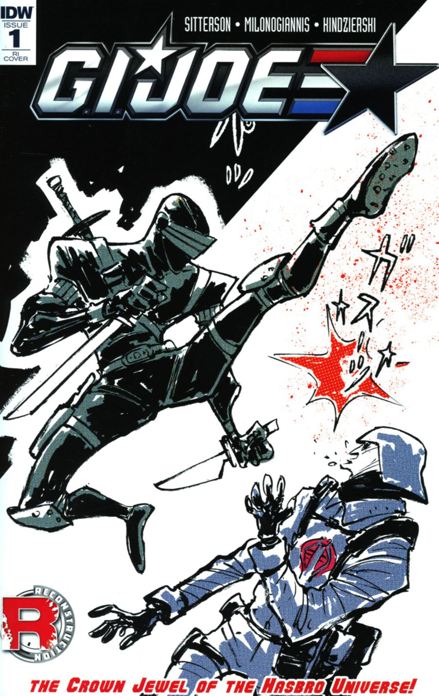 GI Joe Vol 8 #1 Cover F Incentive Sonny Liew Variant Cover