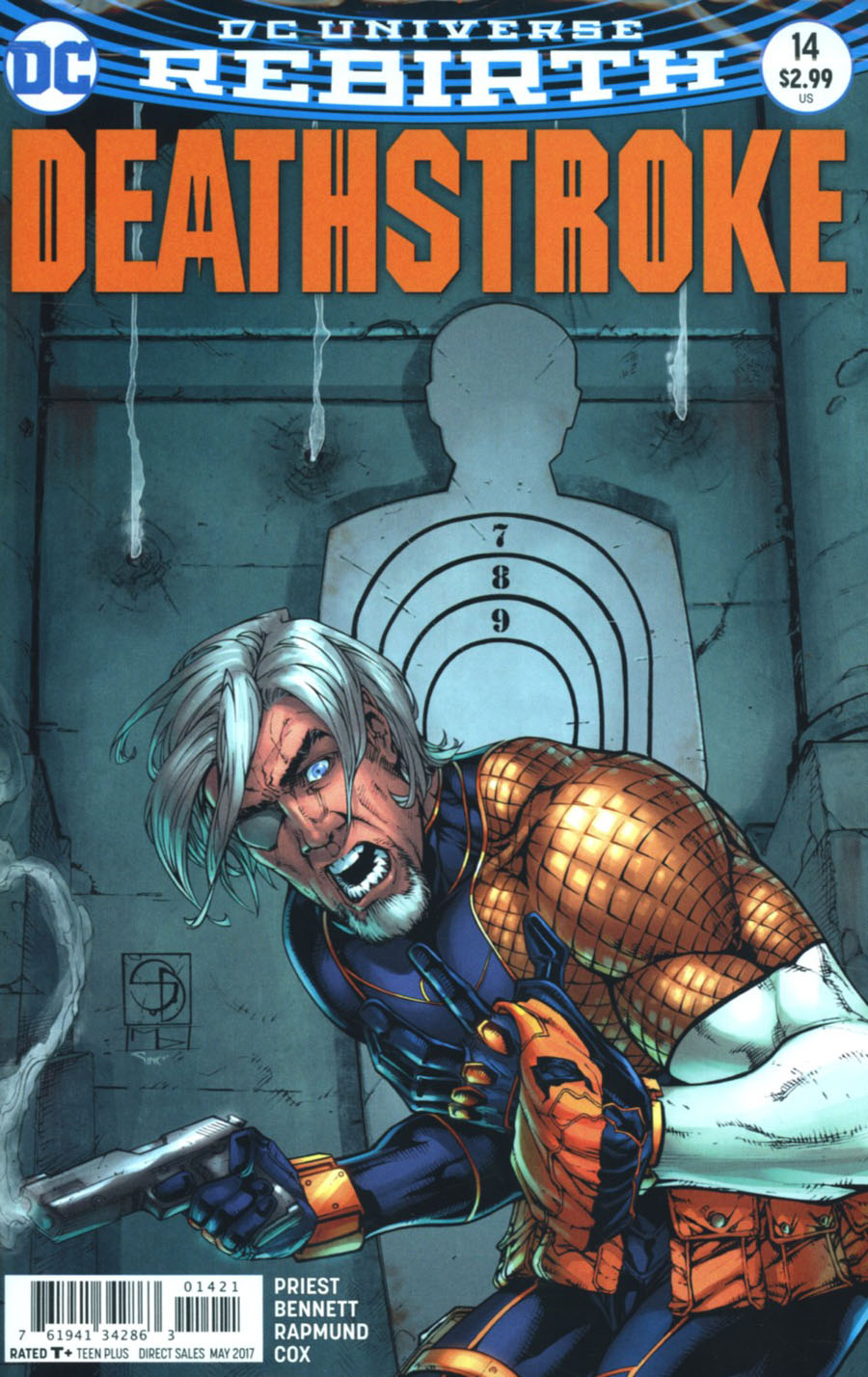 Deathstroke Vol 4 #14 Cover B Variant Shane Davis Cover With Polybag