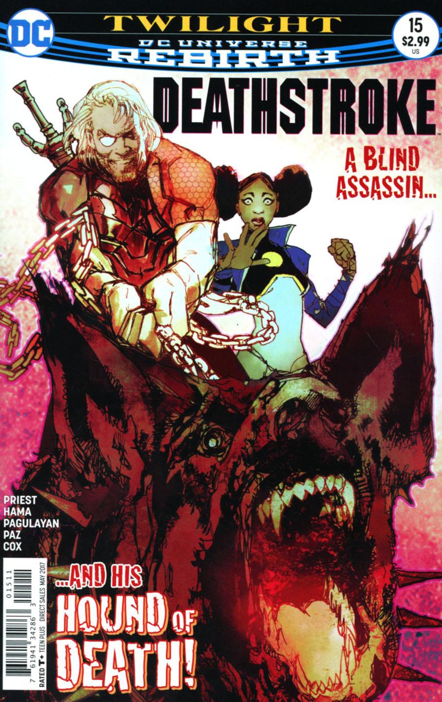 Deathstroke Vol 4 #15 Cover A Regular Bill Sienkiewicz Cover