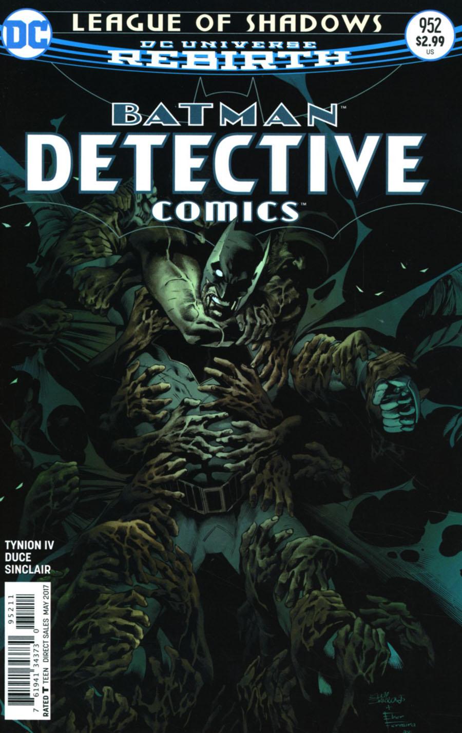 Detective Comics Vol 2 #952 Cover A Regular Eddy Barrows & Eber Ferreira Cover