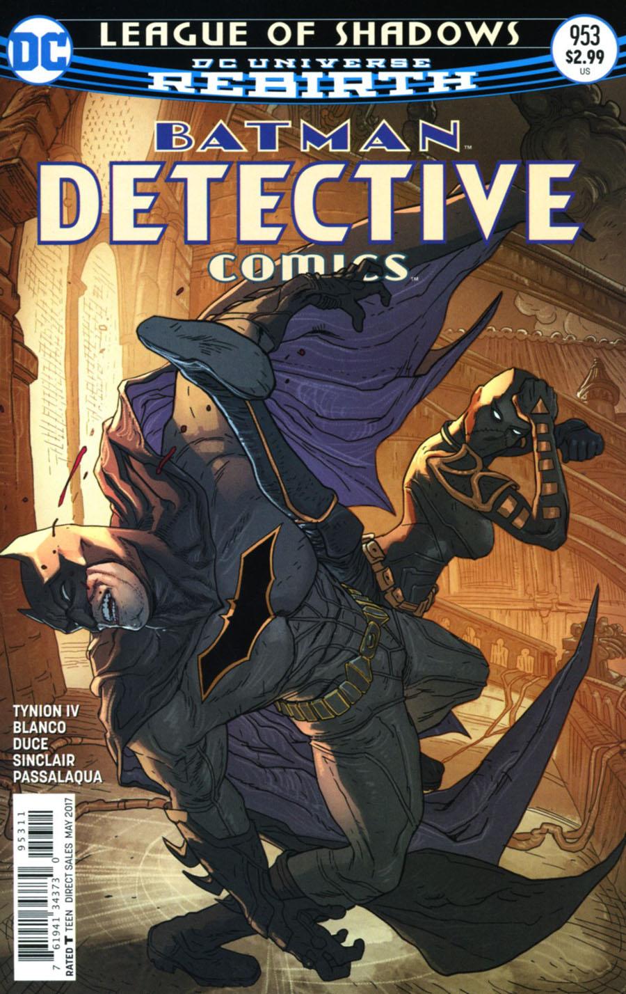 Detective Comics Vol 2 #953 Cover A Regular Eddy Barrows & Eber Ferreira Cover