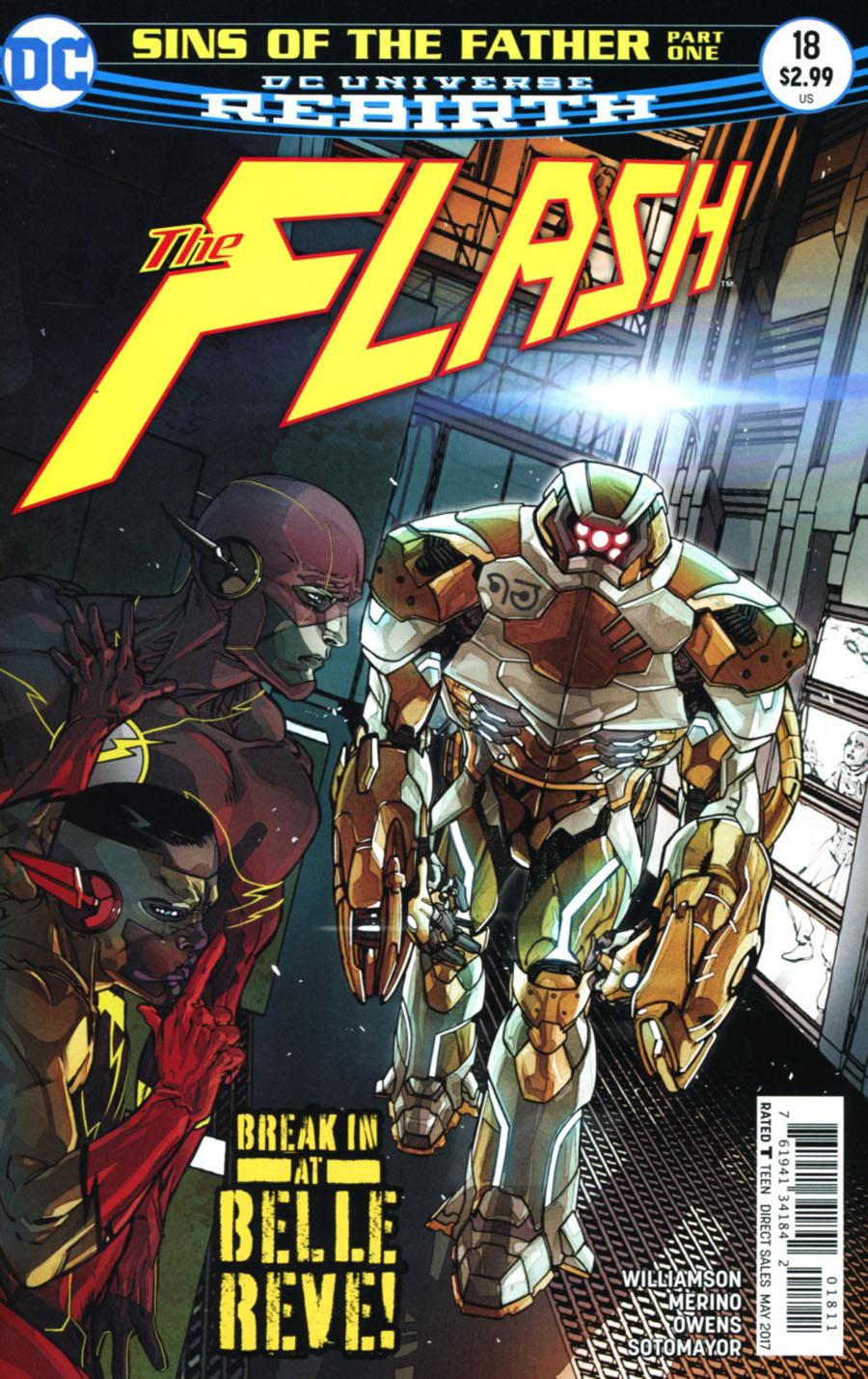 Flash Vol 5 #18 Cover A Regular Carmine Di Giandomenico Cover