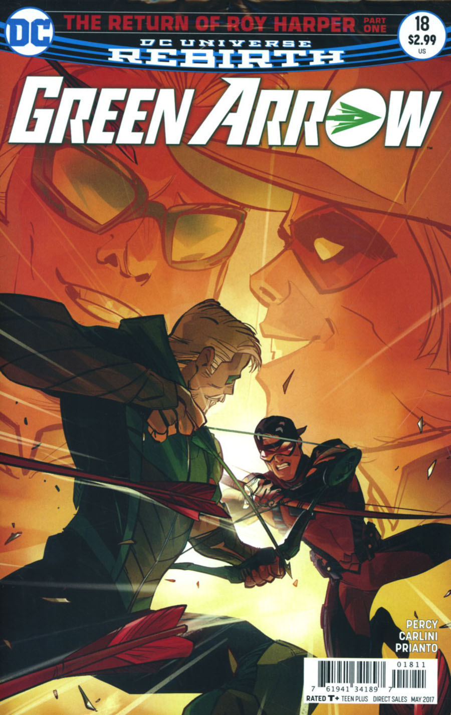 Green Arrow Vol 7 #18 Cover A Regular Otto Schmidt Cover With Polybag