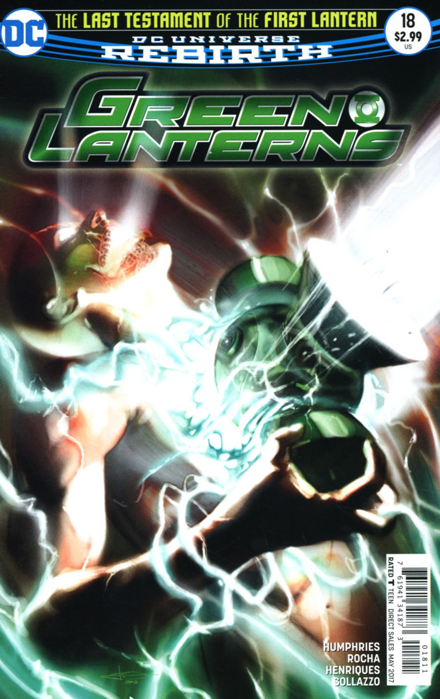 Green Lanterns #18 Cover A Regular Leonardo Manco Cover