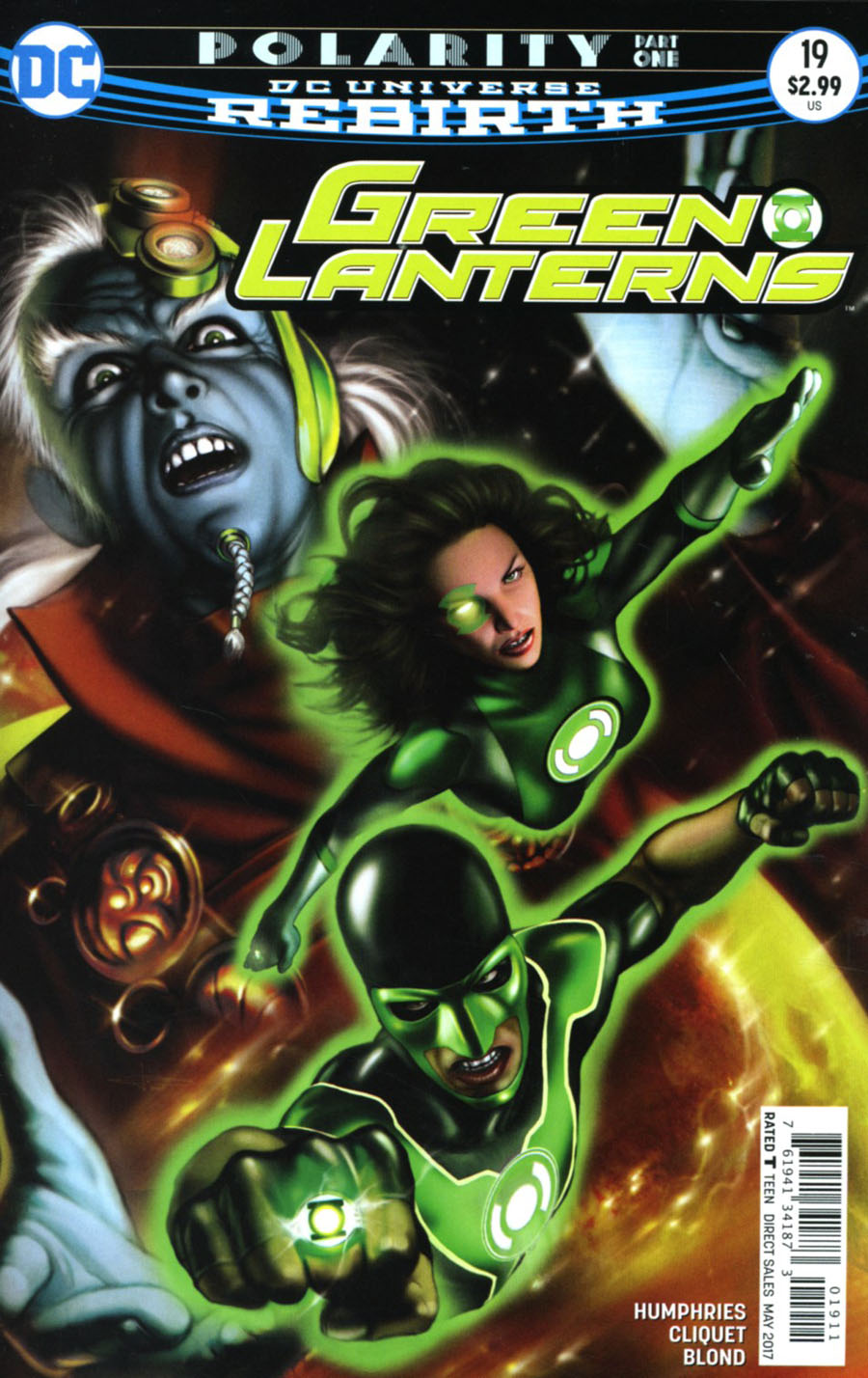 Green Lanterns #19 Cover A Regular Leonardo Manco Cover