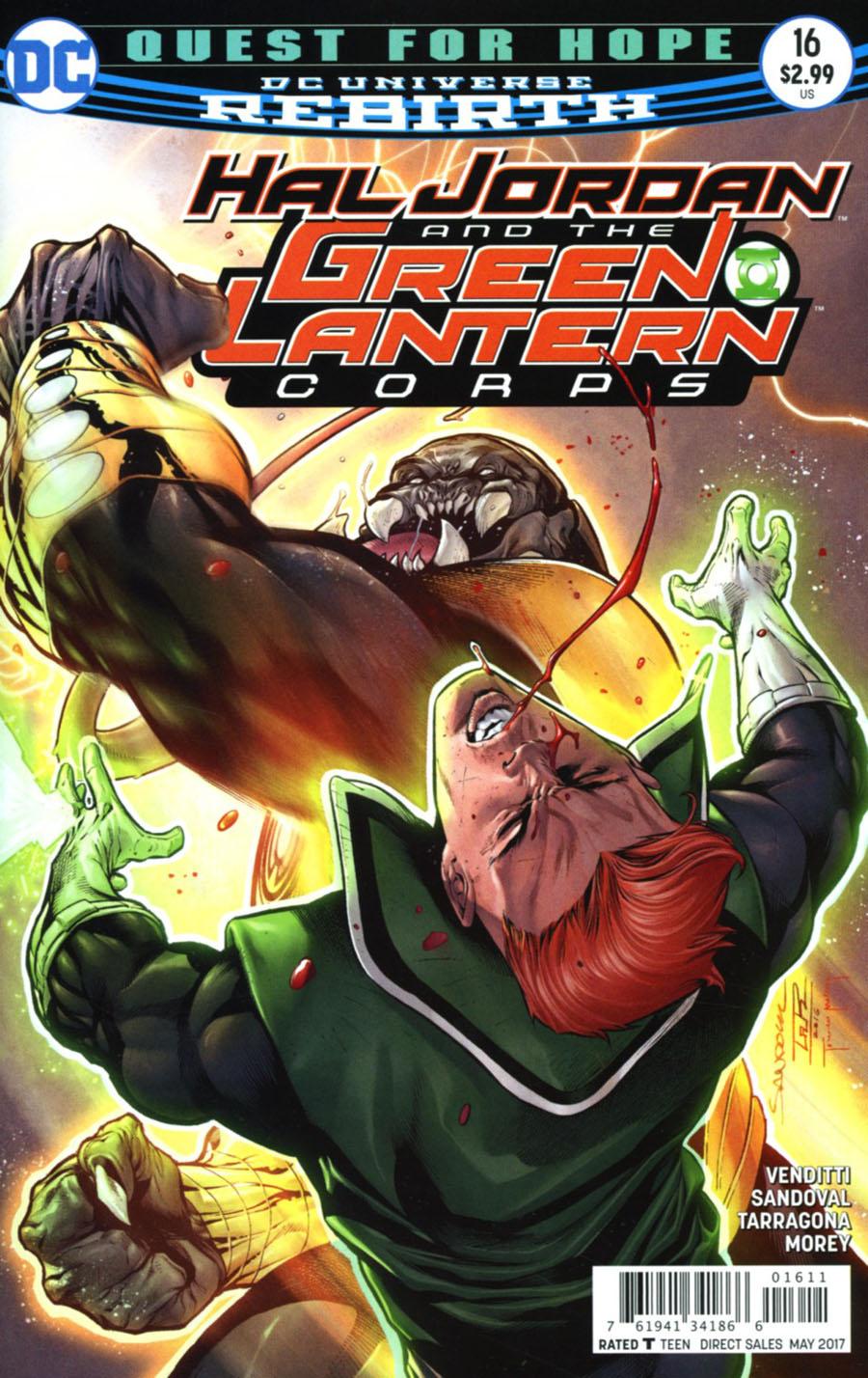 Hal Jordan And The Green Lantern Corps #16 Cover A Regular Rafa Sandoval & Jordi Tarragona Cover