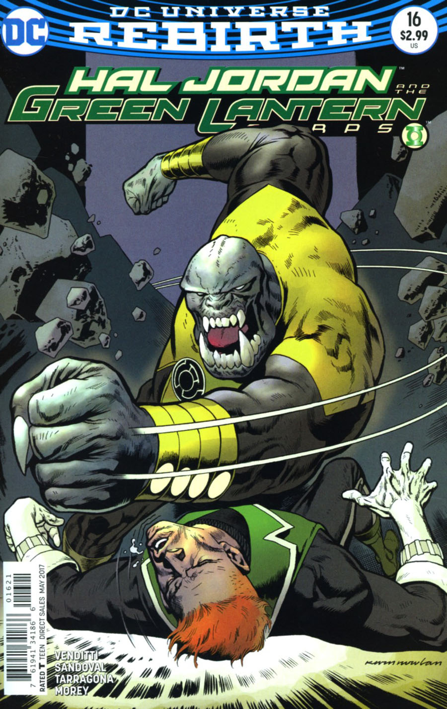 Hal Jordan And The Green Lantern Corps #16 Cover B Variant Kevin Nowlan Cover