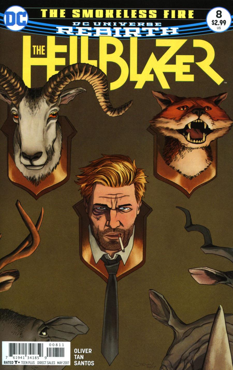 Hellblazer Vol 2 #8 Cover A Regular John Cassaday Cover