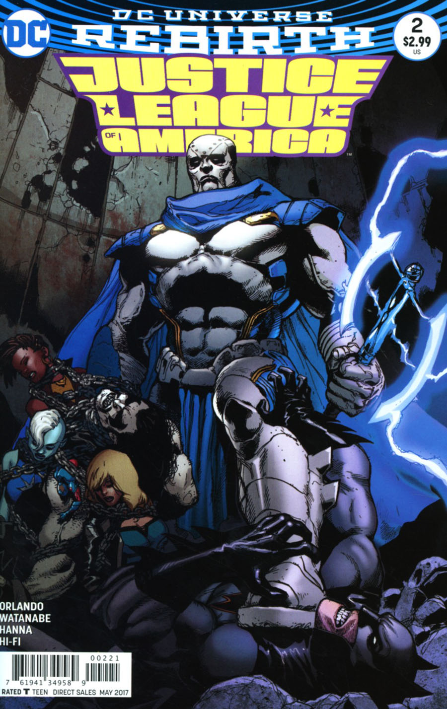 Justice League Of America Vol 5 #2 Cover B Variant Doug Mahnke Cover