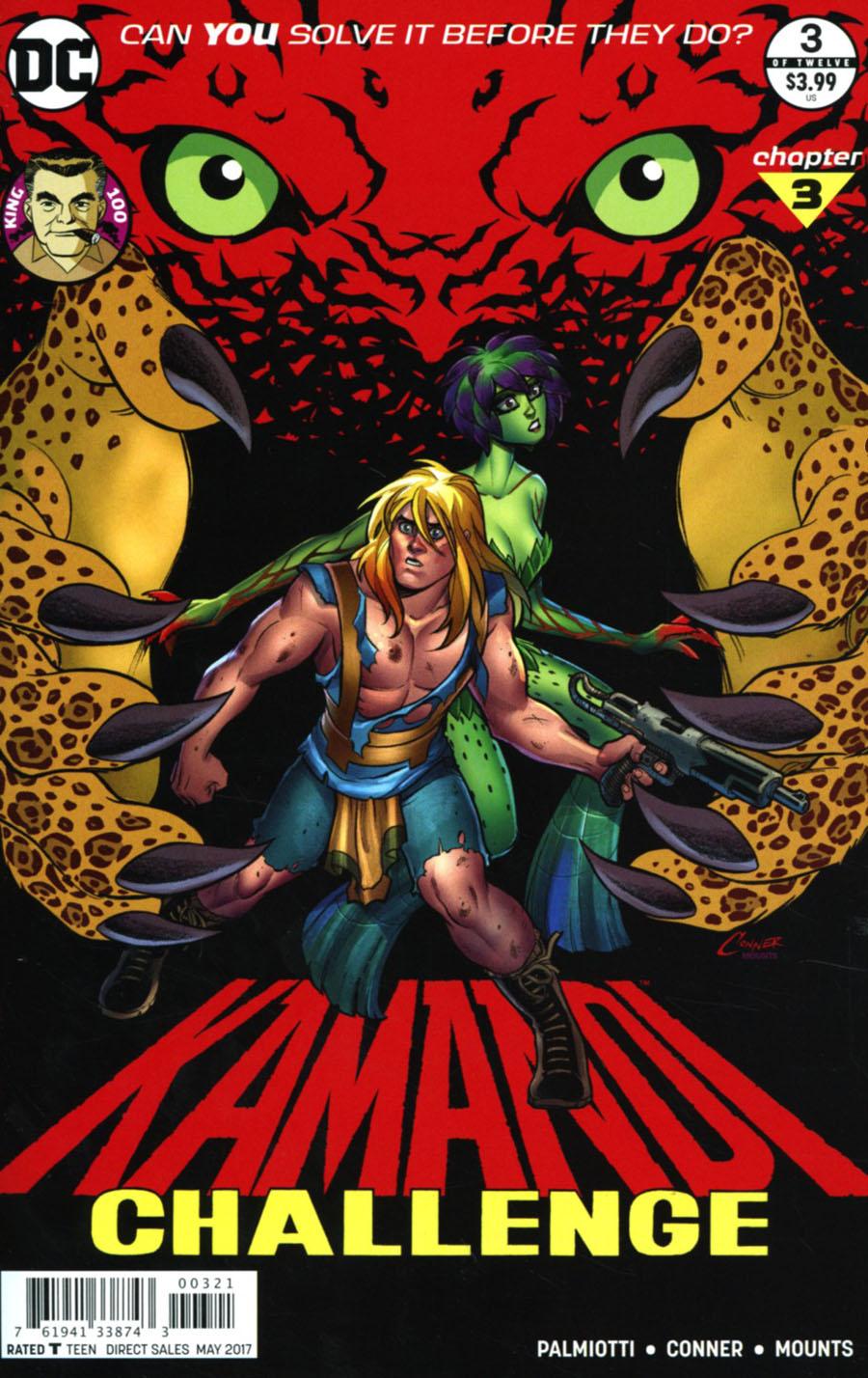 Kamandi Challenge #3 Cover B Variant Amanda Conner Cover